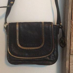 MK navy blue purse